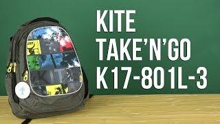 Розпакування Kite take; n; Go 33 л для хлопчиків K17-801L-3