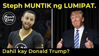 Steph Curry. MUNTIKAN Palang Umalis ng Under Armour DAHIL kay Donald Trump?