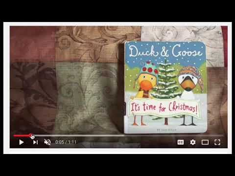 duck goose its time for christmas
