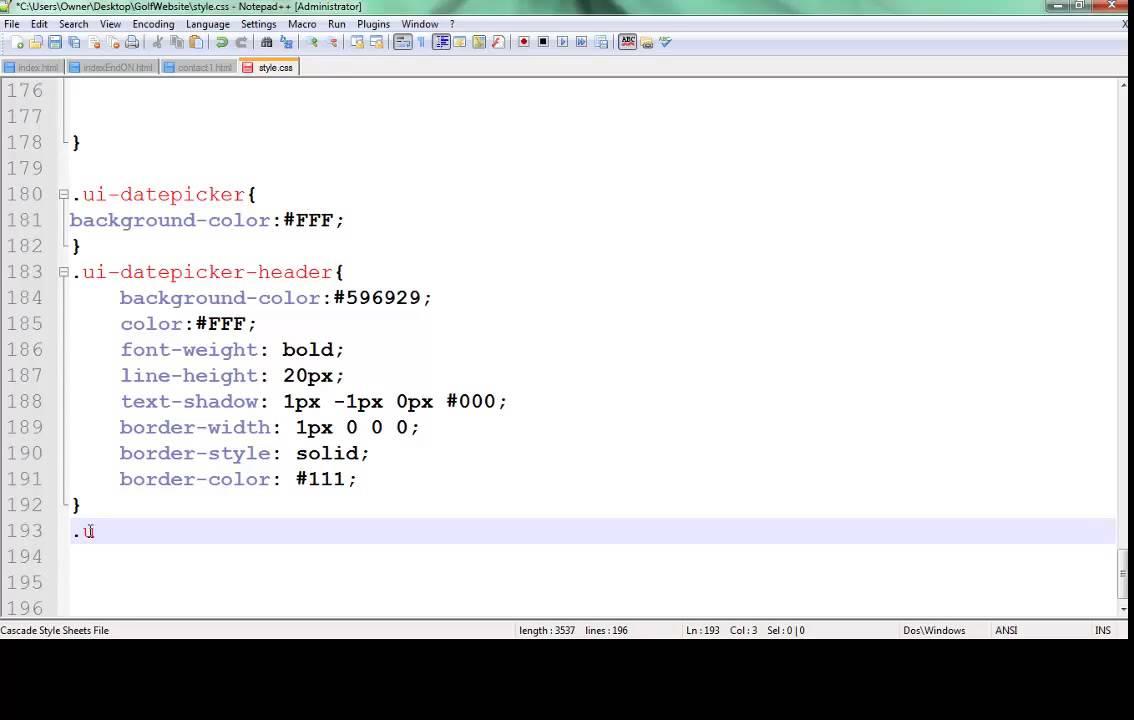 jQuery UI Datepicker