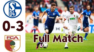 Schalke 04 vs Augsburg 0-3 - All Goals &  Extended Highlights 2020