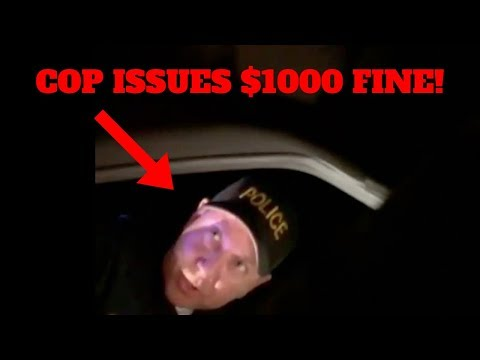 PULLED OVER BY POLICE & FINED $1000 FOR LOUD EXHAUST!