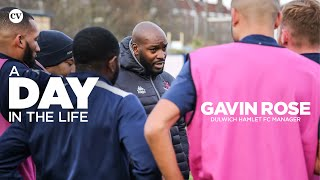 Exclusive! A Day in the Life: Dulwich Hamlet FC manager Gavin Rose