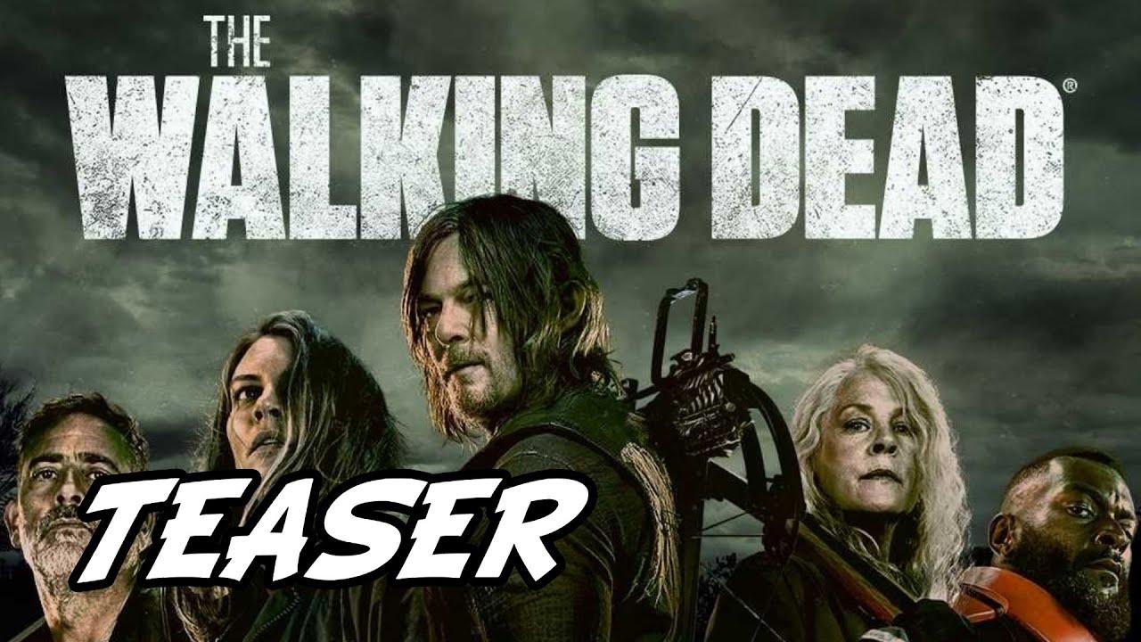 Download The Walking Dead Final Season Episode 1 'Daryl Speaks With Negan & New Key Art' Teaser Breakdown