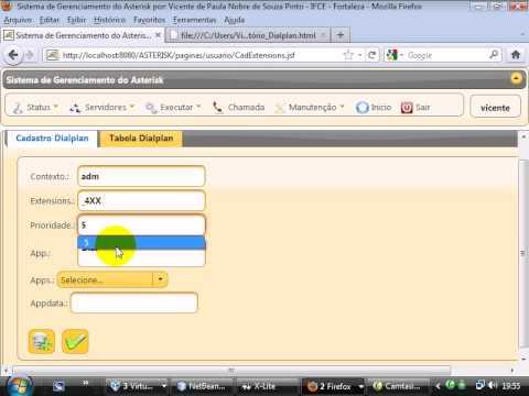 Asterisk - Java - Plano de Discagem SIP - Parte 2.avi
