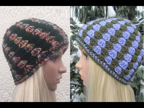 f035046ab33 How to Crochet Vertical Stripes Beanie Hat Pattern  357│by ThePatternFamily