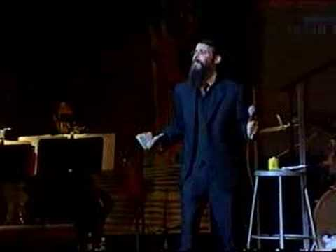 Avraham Fried at the Hebron concert 2001 Part 3