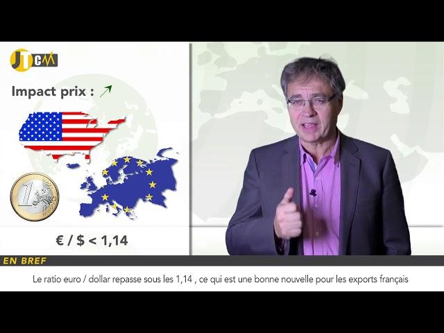 L\'euro dégringole et c\'est une bonne nouvelle !