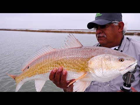 HUGE Nueces Bay Redfish And Trout | Ft. HomeRecker Lures