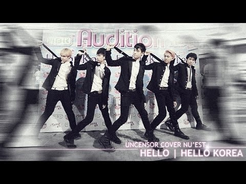 Uncensor Cover NU'EST - Hello @ Hello Korea 130326 Travel Video