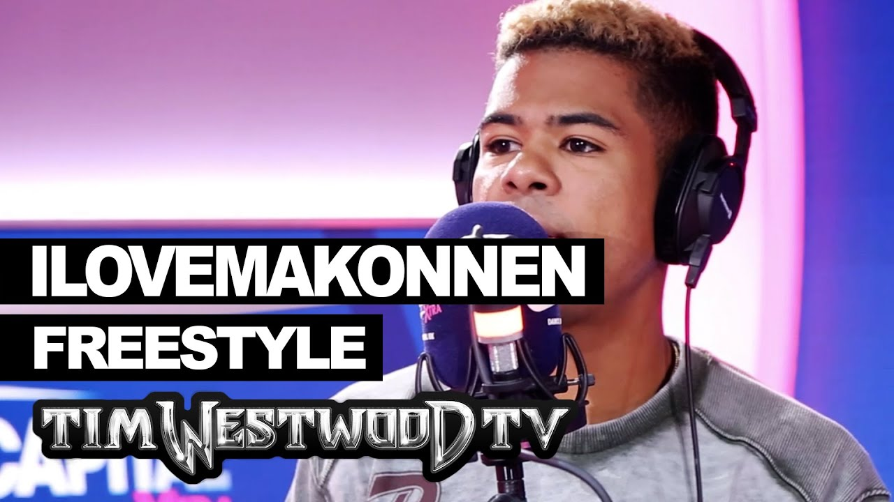 ILoveMakonnen Spits A Wack Freestyle Over Drake & Future Instrumentals On Westwood Tv