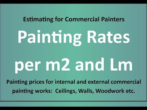 Estimating for Painters -Painting Rates - Painting Rates UK