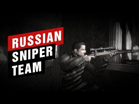 russian-sniper-team- -sniper-elite-2---karlshorst-command-post