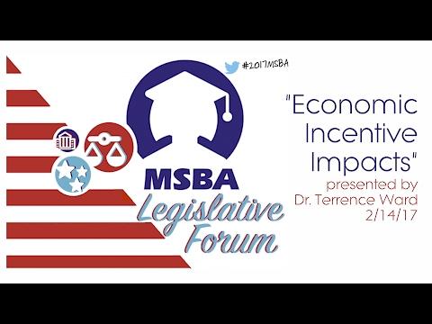 Economic Incentive Impacts