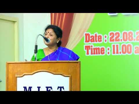 MIET Engineering College First Year Inaugural Function on 22-08-2017
