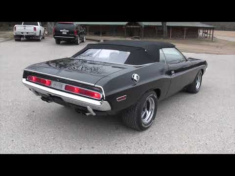 1970 Challenger Convertible 440 4 Speed Dana Dakota Digital