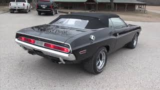 1970 Challenger convertible 440 4 speed dana Dakota digital