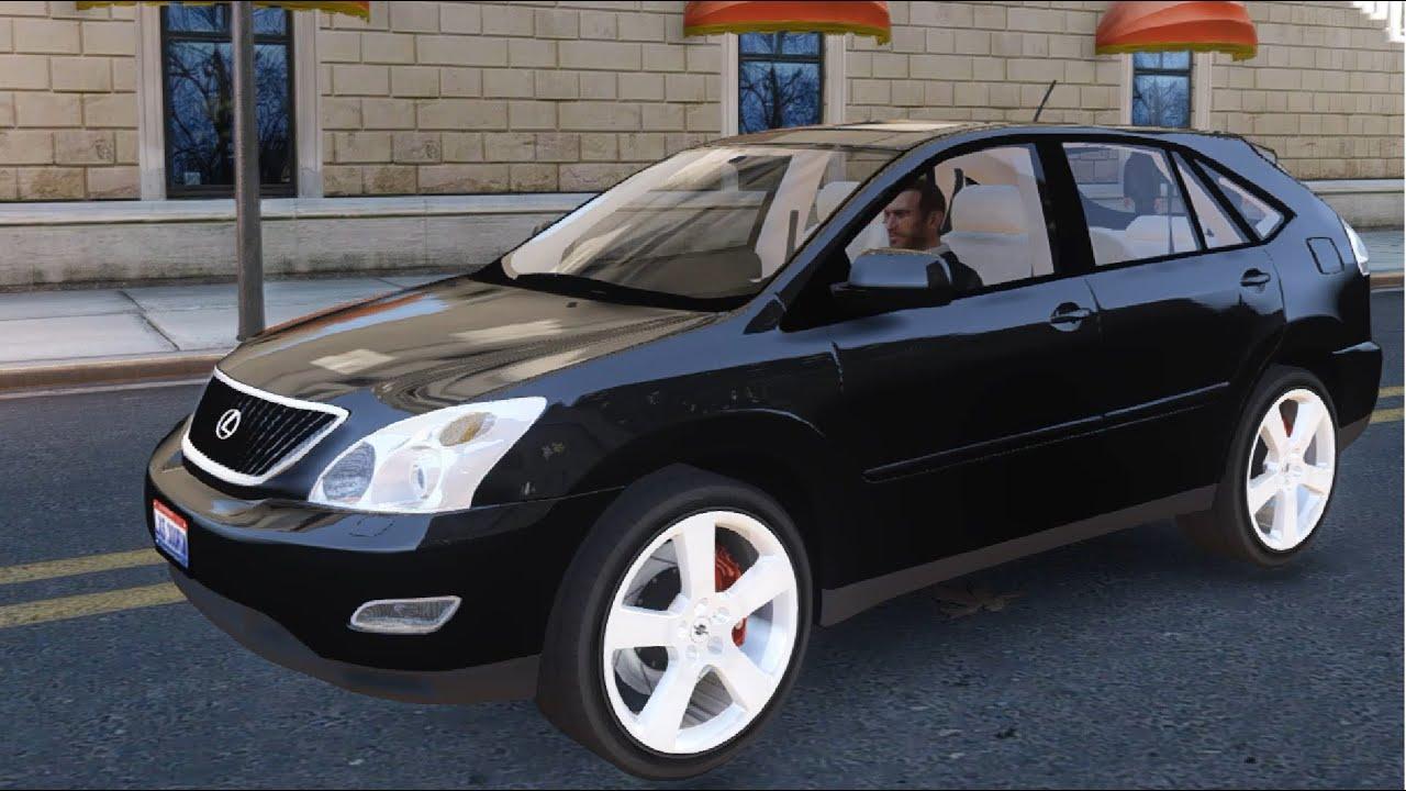 GTA IV Lexus RX 300 EnRoMovies