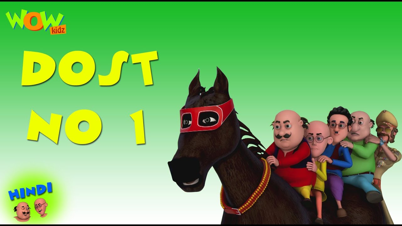 Dost No 1 Motu Patlu In Hindi With English Spanish French