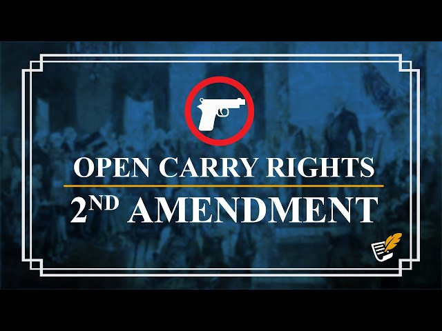 States Defend 2nd Amendment & Open Carry | Constitution Corner