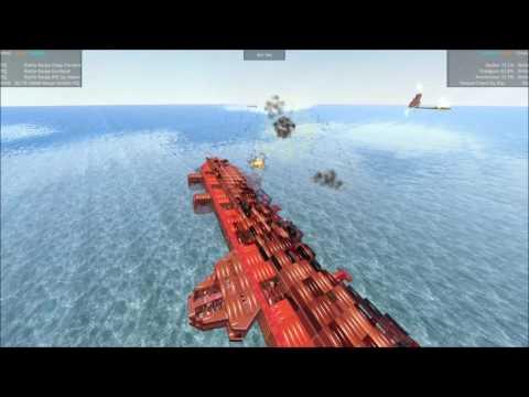 From The Depths Tournament Squadron Shootout E46 Battle Barge INC vs Despair Crew