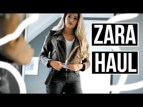 ZARA AUTUMN HAUL ✖️ Try On  | Heylaine