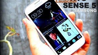 HTC Sense 5 Launcher For Samsung Galaxy