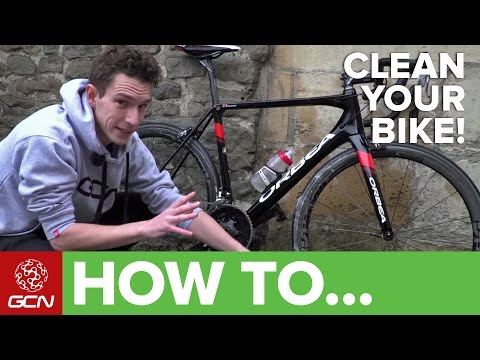 How To Clean A Dirty Road Bike In A Hurry – GCN's Rapid Bike Wash