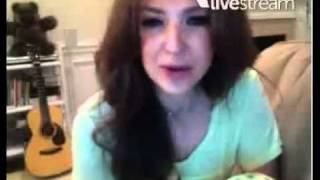 Thalia fala de Anahi, Belinda, Maite, e Dulce Maria - Twitcam 16/11/11