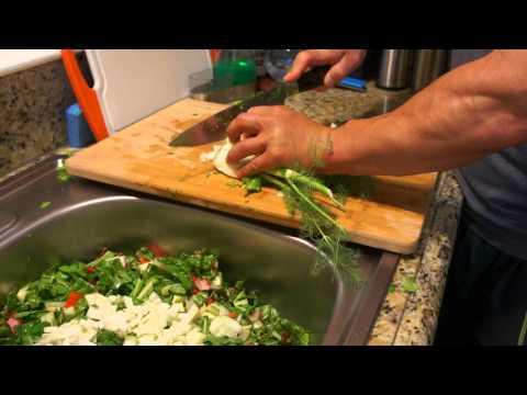 Dr Shepherd's organic salad 008