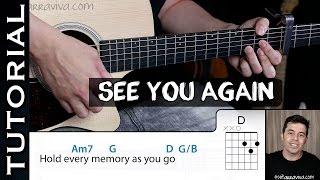 Cómo tocar SEE YOU AGAIN  Fast & Furious 7 / Wiz Khalifa en guitarra