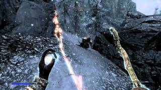Skyrim Roleplay - Part 150 - Frost Troll and Snow Bear