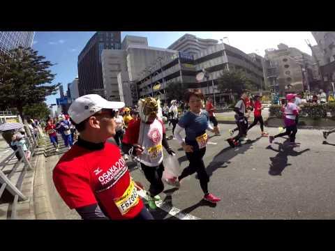 OSAKA Marathon 2014