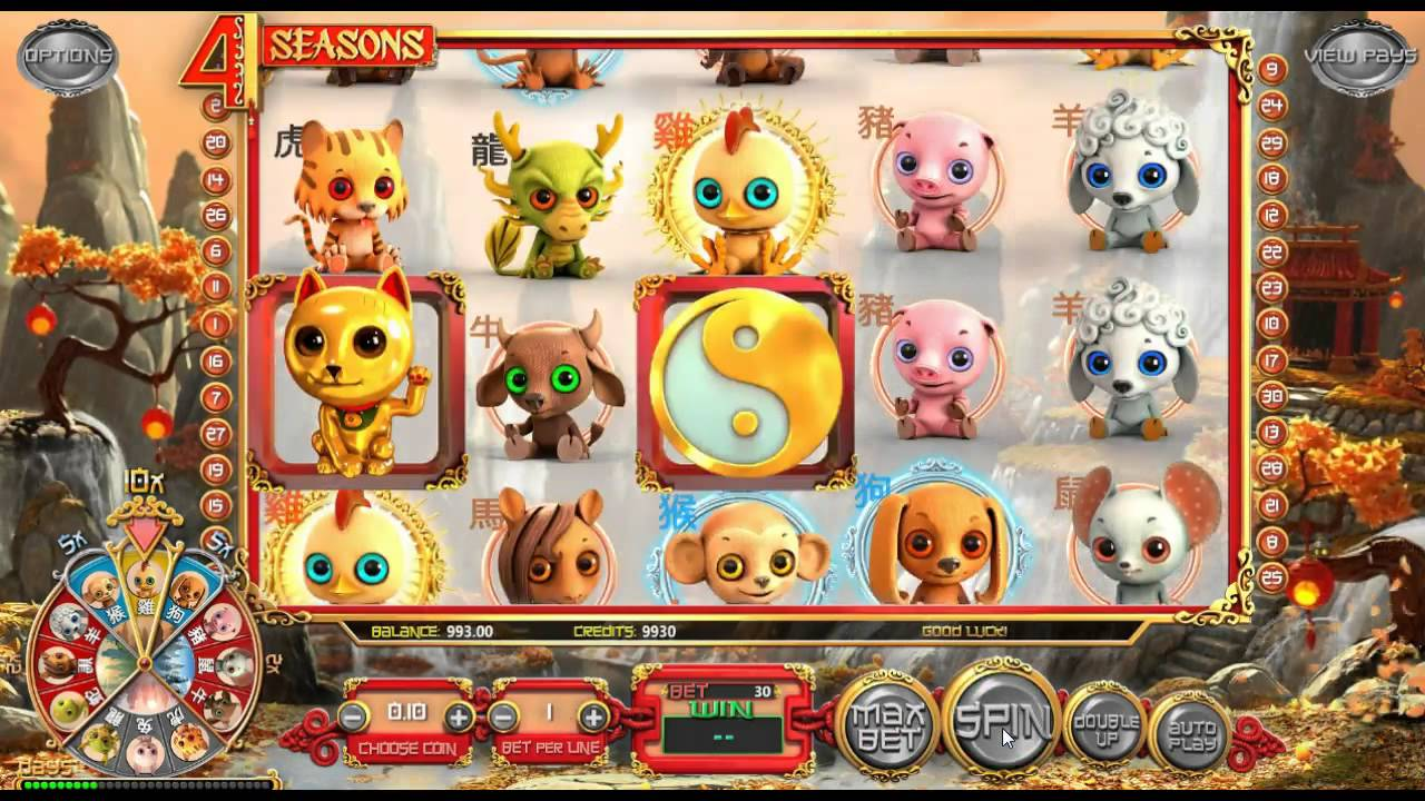 4 seasons online slot