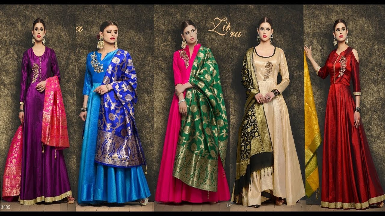 50d958347d5b Latest Indian Heavy Wedding Dress collections 2017