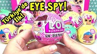 Türkiye'de ilk LOL Yeni Seri 4 Eye Spy Lil Sisters