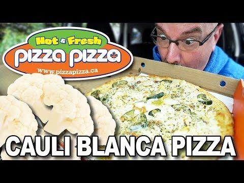 Cauli Blanca 🍕 Cauliflower Crust Pizza From Pizza Pizza 🍕 #ShareTheMoment