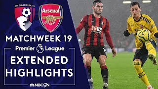 Bournemouth V. Arsenal   Premier League Highlights   12/26/19   Nbc Sports