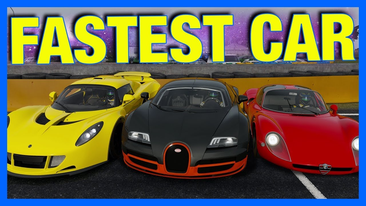 Forza Motorsport 7 Fastest Car In The Game Forza Science Youtube
