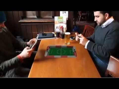 Augmented Reality - Smart Phone Game - Blow Football