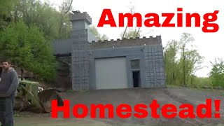 Shipping Container Castle, Andrew Camarata Hoard tour and interview!