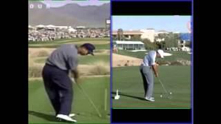 Tiger Woods Swing Phoenix 2015 V 1997 Butch Harmon Chris Como