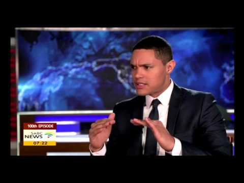 Download Youtube: Comedian Trevor Noah celebrates 100 episodes of The Daily Show