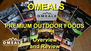 OMEALS Premium Outdoor Foods: Overview and Review of Beef Stew (MRE and Freeze Dried Alternative?)