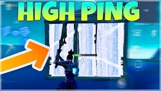 How To Get Into Someone's Box With High Ping | Fortnite Battle Royale