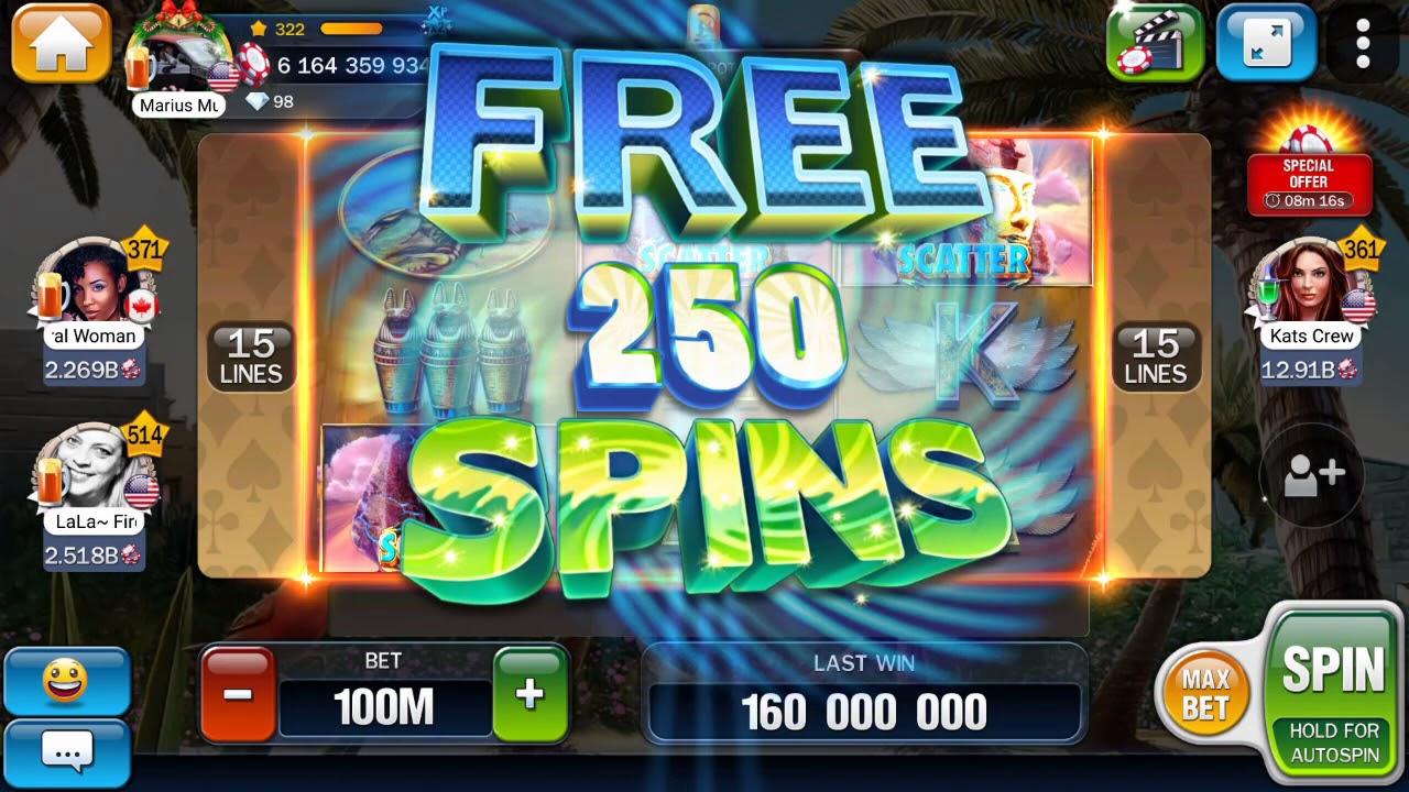 Huuuge Casino Big Win Play 100m 250 Free Spin Youtube