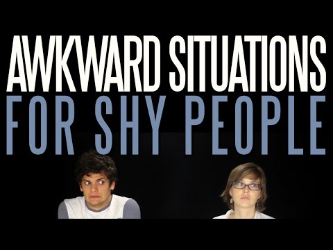 Six Awkward Situations for Shy People   Messy Mondays