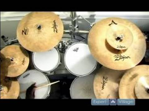 Drum Set Basics : How to Play a Simple Jazz Swing Beat on Drums