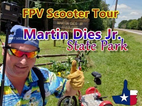 Martin Dies, Jr. State Park, Texas [Official FPV Scooter Tour] Hen House Unit