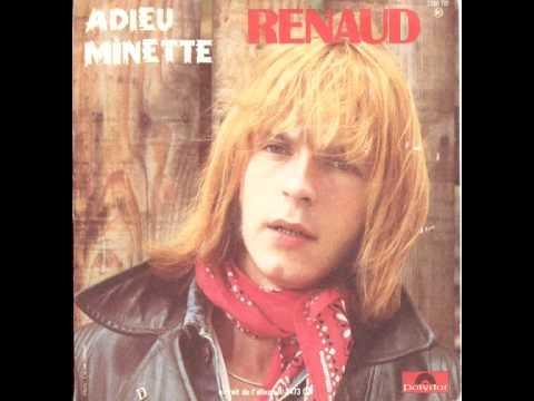 Renaud ADIEU MINETTE - Laisse béton 1977